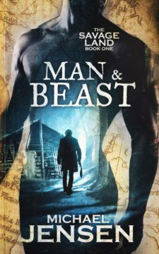 Book of the Month Giveaway: It Was a November to Remember! Man & Beast (The Savage Land: Book One) by Michael Jensen