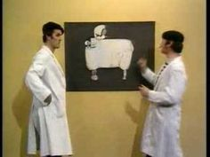 Monty python present their flying sheep in french - YouTube