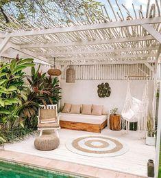 Deko-Terrasse: Mediterrane Inspiration - Die Cocooning Factory - My WordPress Website Outdoor Rooms, Outdoor Living, Outdoor Decor, Outdoor Furniture, Balkon Design, Decoration Inspiration, Decor Ideas, Stil Inspiration, Decor Diy
