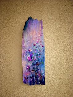 Wish I could make this effect with paint Rustic Art, Art Painting, Wood Art, Art Projects, Wood Painting Art, Driftwood Art, Canvas Art, Art Inspiration, Decorative Painting