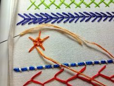 Take a Stitch Tuesday #11 - Whipped Wheel