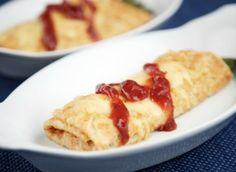 Asparagus Parcel Savoury Crepes made with Marcel's Ooh La La Gluten Free Crepes Breakfast Recipes, Dinner Recipes, Dessert Recipes, Desserts, Gluten Free Crepes, Savory Crepes, Crepe Recipes, Asparagus Recipe, Recipe Ideas