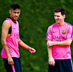 17.08.14 Neymar e Leo