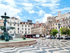 Lisbon, Portugal - Portugal's history of intricate tilework—from its ceilings to floors, homes and hallways—means you can't walk down a street in Lisbon without spotting something beautiful. —Lilit Marcus