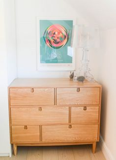 Our customer Mireilla's Penn Chest of Drawers is the perfect sleek storage for her London home.COM/Unboxed Chest Of Drawers, White Wooden Floor, Stylish Storage, Furnishings, Bedroom Interior, Drawers, Stylish Storage Solutions, Cabinet Drawers, Bedroom Chest Of Drawers