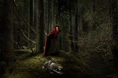 The true story about Little Red Riding Hood by lupographics on ...