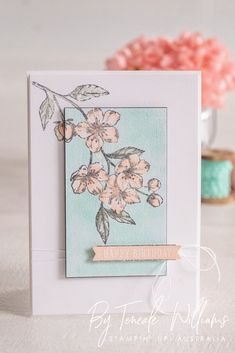 Stampin' Up! Card Making Inspiration, Making Ideas, Paris Cards, Stamping Up Cards, Mothers Day Cards, Sympathy Cards, Greeting Cards, Card Sketches, Flower Cards