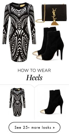 """""""Beautifulhalo #3"""" by evalentina92 on Polyvore featuring Yves Saint Laurent and bhalo"""