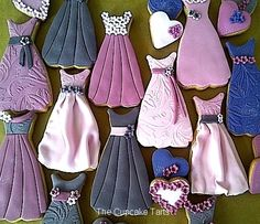 Vintage-Inspired Dress Cookies for Mother's Day