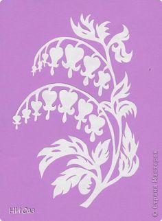 Coeur de marie. Stencil Patterns, Applique Patterns, Bleeding Heart Flower, Cricut Stencils, Simple Embroidery, Scroll Saw Patterns, Paper Stars, Silhouette Art, Stencil Painting