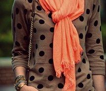 Inspiring image sweater, scarf, winter, fashion, fall, cozy, trendy, polka dot #1302113 by korshun - Resolution 553x836px - Find the image to your taste