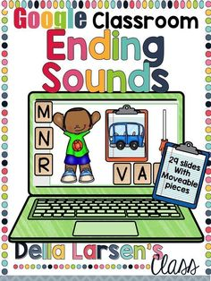 Use Google Classroom to ignite your literacy block. Phonological/Phonemic Awareness is a critical step in building a strong foundation for early reading success. Students need to increase fluency in identifying, blending, and manipulating sounds (phonemes). Identifying ending sounds is a critical step to help increase reading fluency and building confident readers. Guided Reading Activities, Reading Fluency, Reading Intervention, Teaching Reading, Google Classroom, Classroom Ideas, Online Classroom, Flipped Classroom, Classroom Resources