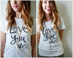 """Cute shop with lots of great Tee-shirts! Love this """"I  love you etc!"""" We Blow Kisses... www.weblowkisses.com"""