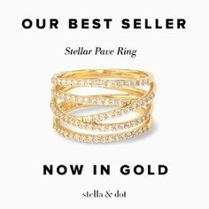 Our Best Seller now in gold...go ahead and treat your self! because your are the best!