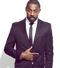 Idris Elba. This is what stone cold cool looks like.