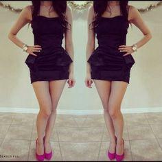 Vestidos de damas cortos pegados
