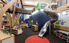 Trillium Creek Primary Library in West Linn, OR - DOWA-IBI Group