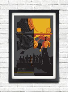 The Original Star Trek Series  James T. Kirk   17x11 by bensmind, $19.99