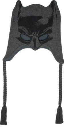 Batman Mask Peruvian Knit Hat. (Why do I not own this already?)