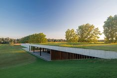 Figueras Polo Stables by Estudio Ramos #greenroofs