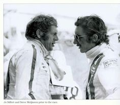 Steve McQueen and Joe Siffert