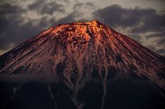 Mount Fuji Photo by K. Tokuda -- National Geographic Your Shot