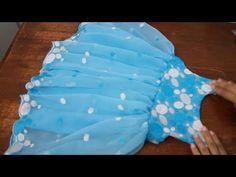 Girls Frock - Pattern Cutting and Stitching - YouTube