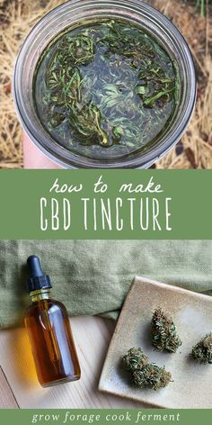 How to Make Cannabis CBD Tincture Cannabis is now legal in many places and is great to use for medicinal purposes. Learn how to make a homemade cannabis CBD tincture for all of your aches and pains! Healing Herbs, Medicinal Plants, Herbal Tinctures, Herbalism, Natural Home Remedies, Herbal Remedies, Health Remedies, Cold Remedies, Holistic Remedies