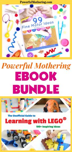 Ebooks are all the rage especially with the pandemic, online classes, homeschooling and the work from home setup. At an affordable price, you can get a hold of 6 pieces, all a perfect combination of family ebooks and ebooks for children filled with fun preschooler crafts, DIY crafts, homemade projects, fine motor skills development, busy bags, playing with lego printables and so much more! You know you want it! Be sure to check out this blog to find out more. Preschooler Crafts, Craft Activities For Kids, Sensory Activities, Toddler Activities, Projects For Kids, Diy Projects, Toddler Learning, Toddler Preschool, Early Learning