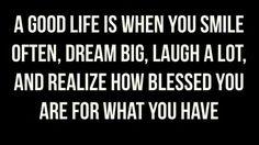 Always Choose this kinda Good life