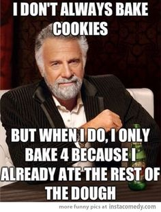 "Haha! My sister and I...All the way...or half a brownie batch...because we ""bought the snack size batch"" ;-)"