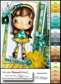 Passionate Paper Creations: Color Palette For Pinterest