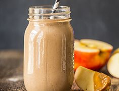 Upgrade the classic peanut butter and chocolate flavor combo with a taste of espresso in this Peanut Butter Protein Shake.