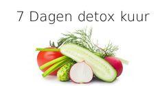 7 daagse detox kuur #detoxen http://totalbodywellness.nl/detoxen/detox-kuur-van-7-dagen-je-lichaam-ontgiften/