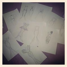 schetsen (project blue jeans)