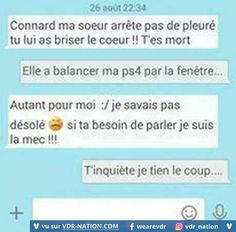 6 fautes d'orthographe majeures en 4 phrases simples. Funny Sms, Funny Text Messages, Funny Texts, Funny Quotes, Laughing And Crying, Geek Humor, Just Smile, Crazy People, Funny Comics
