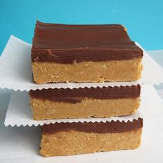 Reese's Peanut Butter Bars Ingredients: 2 cups finely ground graham cracker crumbs 2 cups powdered sugar 1 cup melted butter 1 cup + 4 tablespoons peanut butter 1 1/2 cups semi-sweet chocolate chips