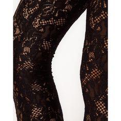 Kova & T Lace Leggings ($137) ❤ liked on Polyvore