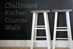 chalkboard kitchen c