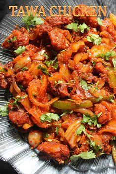 YUMMY TUMMY: Easy Tawa Chicken Recipe / Spicy Tava Chicken Fry Recipe