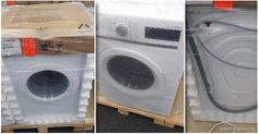 Waschmaschine verpacken  #Waschmaschine #Waschmaschinentransport #Sperrgut