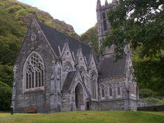 The church at Kylemore Abbey, Ireland.  Just darling inside.
