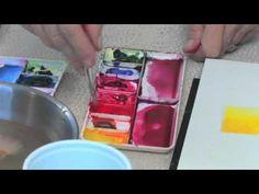 "Understanding Primary Colors  - ""Watercolor Basics"", Vook"