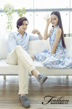 Can we agree that Yang Mi has really good taste? Dilireba and Gao Weiguang, two members of the gorgeous new Yang Mi workshop, were recently featured by NetEase in a cute Chinese Valentine's D… Asian Celebrities, Asian Actors, Celebs, Celebrities Fashion, Studio Tv, Eternal Love Drama, Fantasy Couples, Chinese Movies, Peach Blossoms