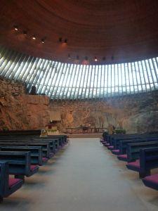 Temppeliaukion Kirkko, Helsinki Finlande