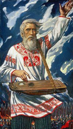 Glory to Forefathers! Ilya Glazunov (b1930 Leningrad, USSR) | RUSSIAN KITSCH