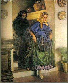"""Escena interior"" - Autor: Rigoberto Soler Pérez (1895-1968)"