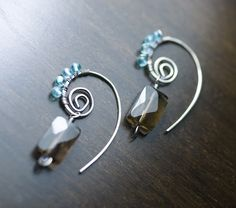 images of wire wrapped jewelry | ... Wire Wrapped Strling Silver Earrings by Moss & Mist Jewelry | Flickr