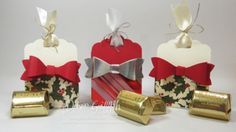 Candy Holder with Scallop Tag Topper punch video
