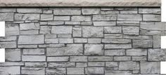 Faux Stone Sheets Siding Panels high quality artificial rock and stone products are perfect for commercial, residential for both indoor and exterior applications. Faux Stone Sheets Siding Panels are: Lightweight - They weigh around one lb/sq ft., making it easy for an individual to work with. Extremely Durable -They are made from a composite of a high-impact resistant structural polyurethane surface backed with a strong polyurethane foam to form a lightweight, yet durable product. Larger than th Faux Stone Sheets, Faux Stone Panels, Stone Veneer Exterior, Brick Wall Paneling, Artificial Rocks, Grey Siding, Faux Rock, Polyurethane Foam, Wainscoting
